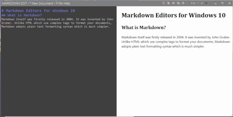 6 Best Markdown Editors for Windows 10 – Better Tech Tips
