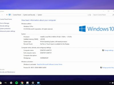 5 Ways to Open System Properties in Windows 10