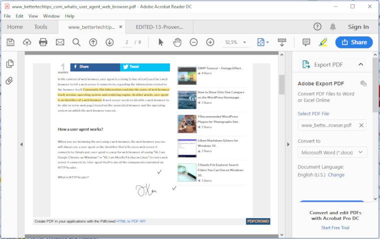9 Best PDF Readers for Windows 10 – Better Tech Tips