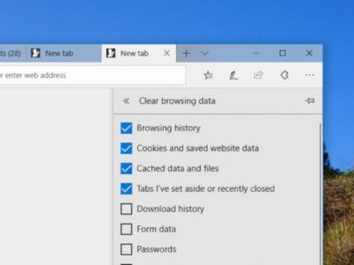 How to Clear The Browsing History in Microsoft Edge