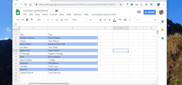 How to Color Alternate Rows in Google Sheets