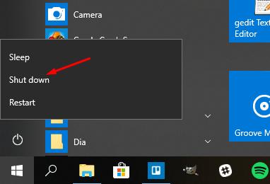 windows 10 start menu reset itself