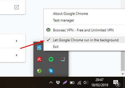 How to Stop Google Chrome from Running in the Background on