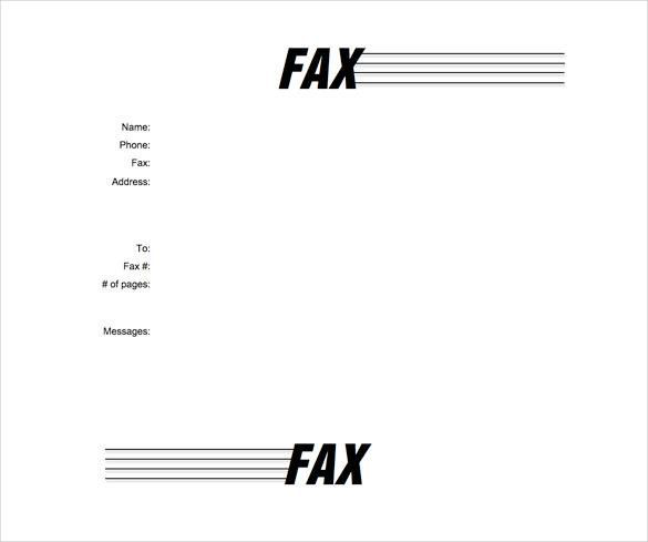 7 Most Professional Fax Cover Sheet Templates Better Tech Tips