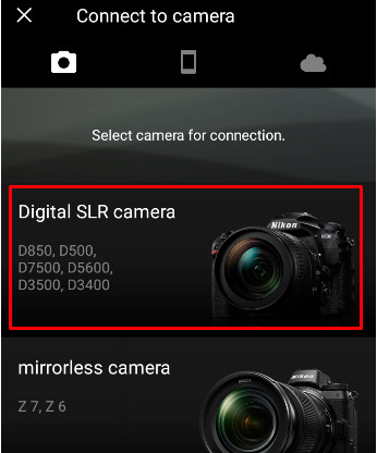 How to Use SnapBride App to Download Photos from a Nikon Camera